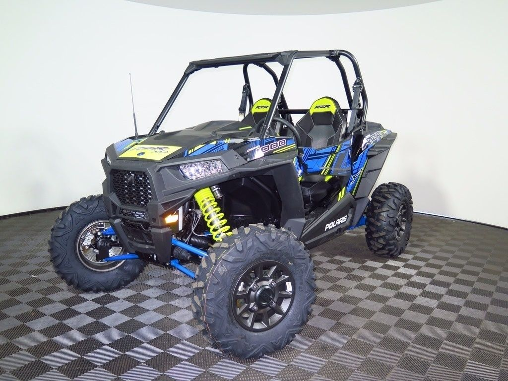 New 2017 Polaris RZR XP 1000 EPS Velocity Blue LE ATVs For Sale in
