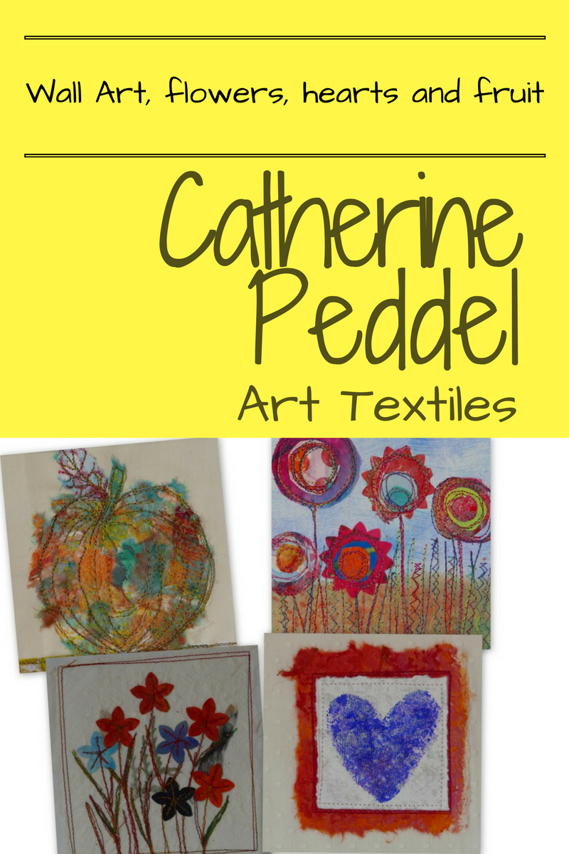 Pin by Catherine Peddel Art Textiles: Using paper and fabric to make ...