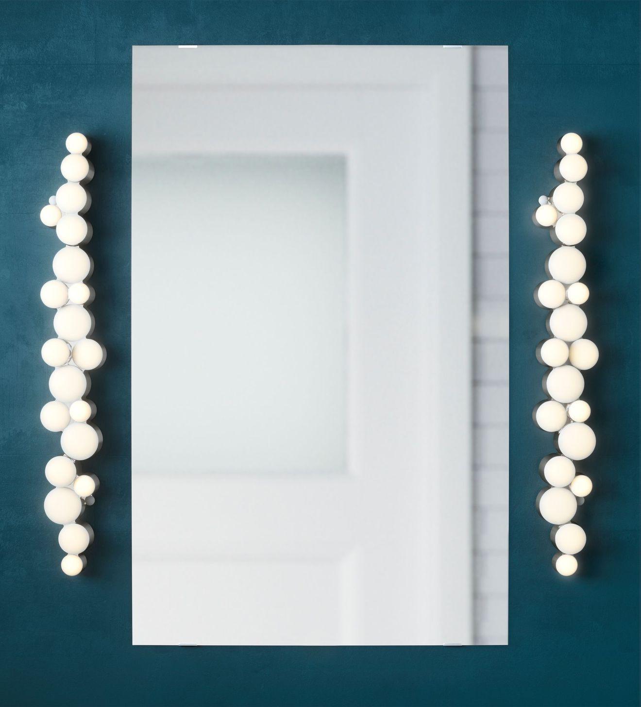 Lampes et luminaires pour clairer la salle de bains avec - Luminaire pour salle de bain ikea ...