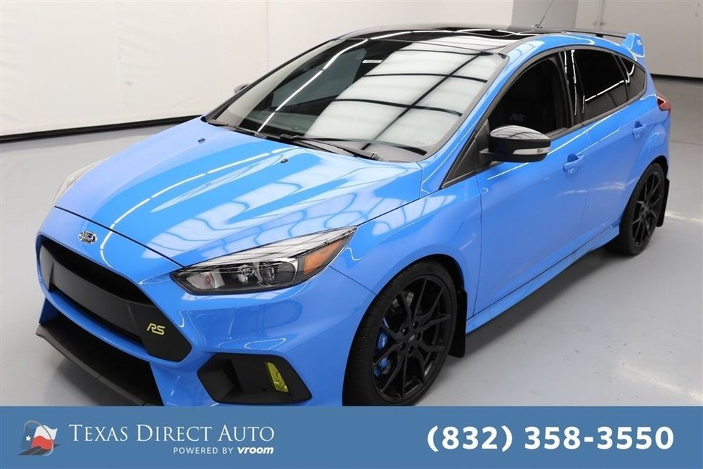 For Sale Ford Focus Rs Texas Direct Auto 2017 Rs Used Turbo 2 3l