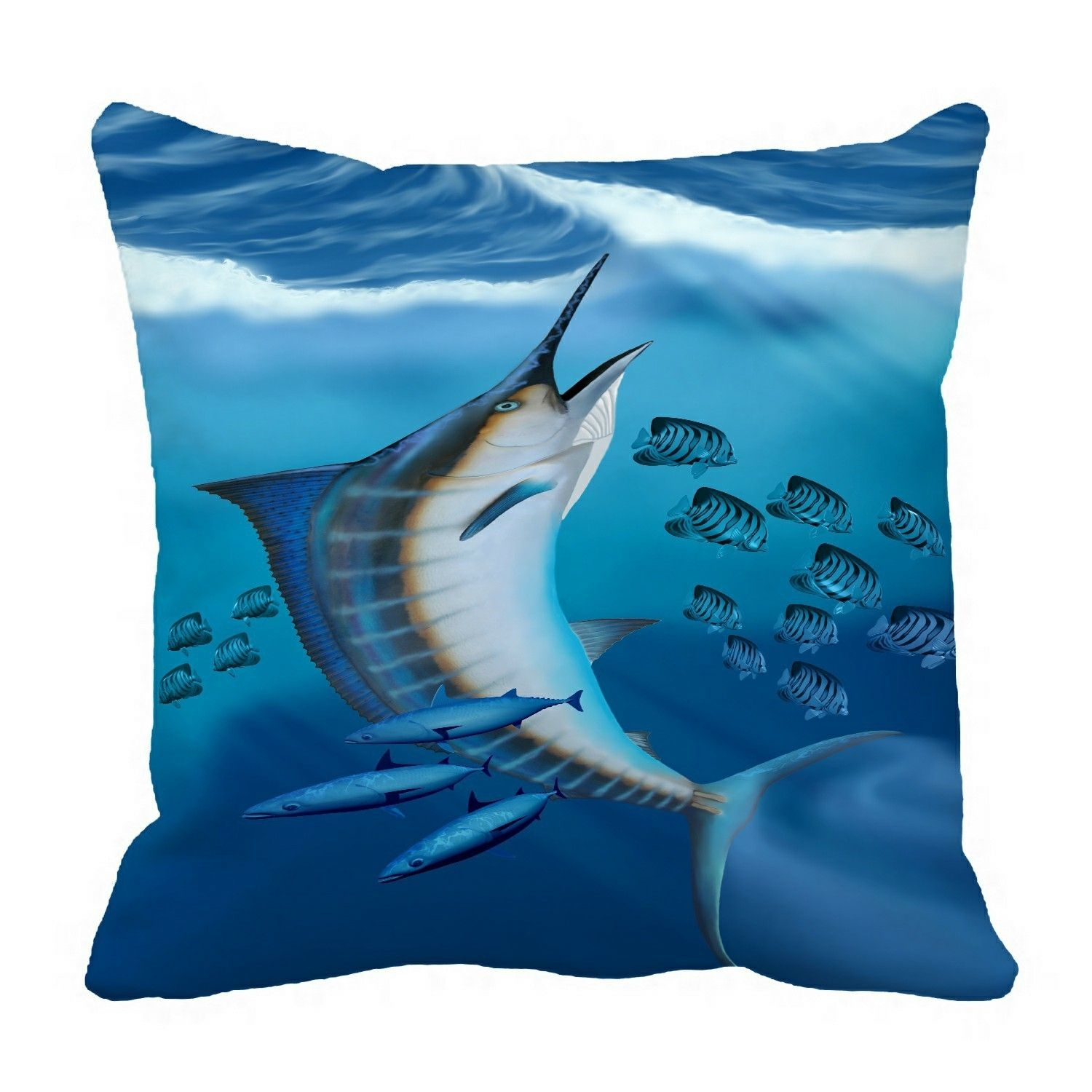 Marlin Fish Small fish scatter Pillow?Case?Pillow?Cover?Cushion?Cover