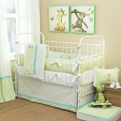 Giraffe Baby Nursery Crib Bedding