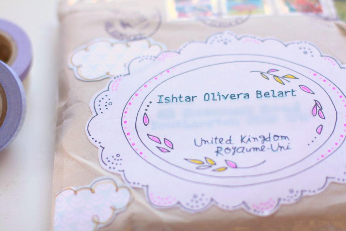 lovely envelope (via ishtarolivera)