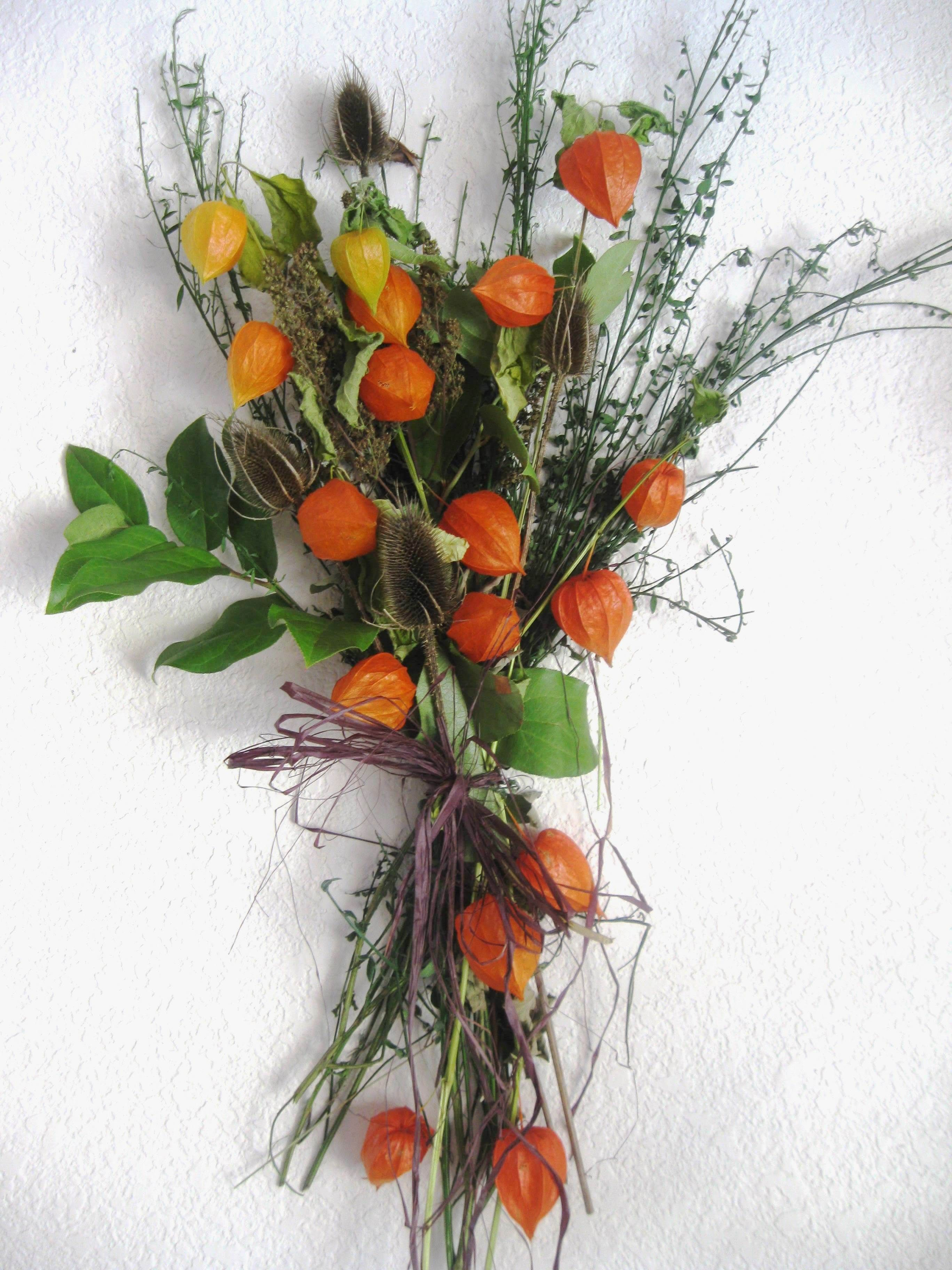 Lovely fall decor - Chinese lantern plant | Chinese ...