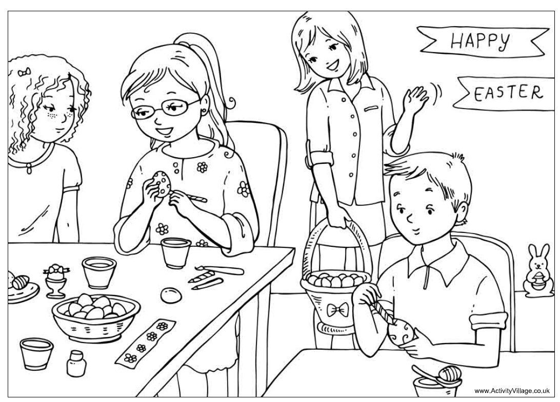 Colouring Cartoon Pictures For Kids Throughout Thanksgiving Inside And Activity Village Coloring Pages