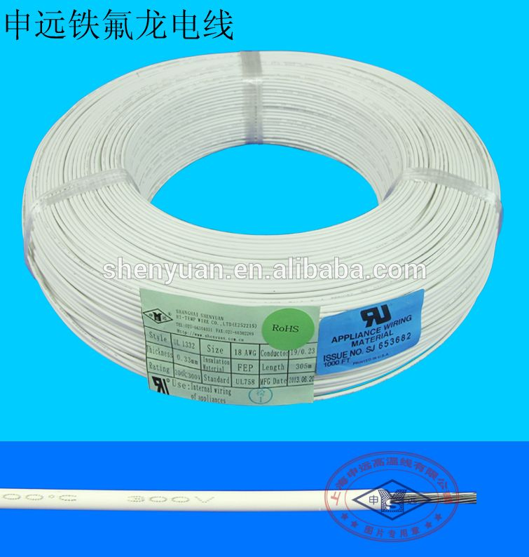 wear resistant ul 1330 teflon insulated electric rice cooker wire ...