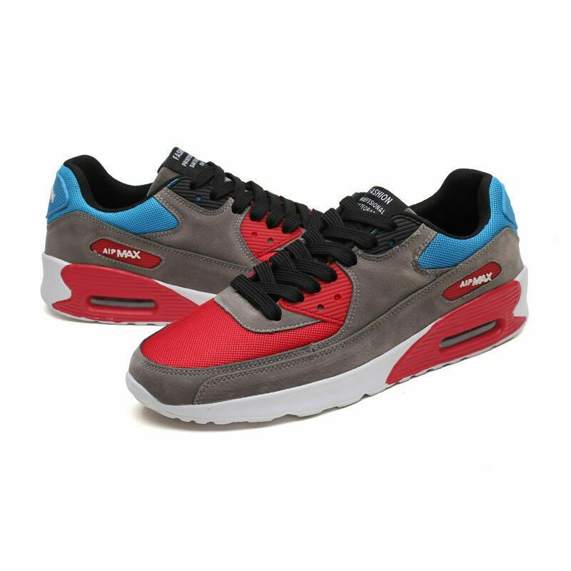 Men/'s Max 90 Cushion Sports Athletic Sneakers Casual Running Breathable Gym Shoe