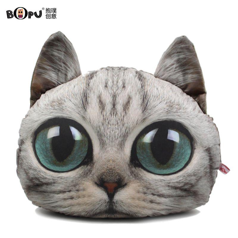 Bopu Creative Pillow Cat Doll Cat Pillow Dolls Cat Toy
