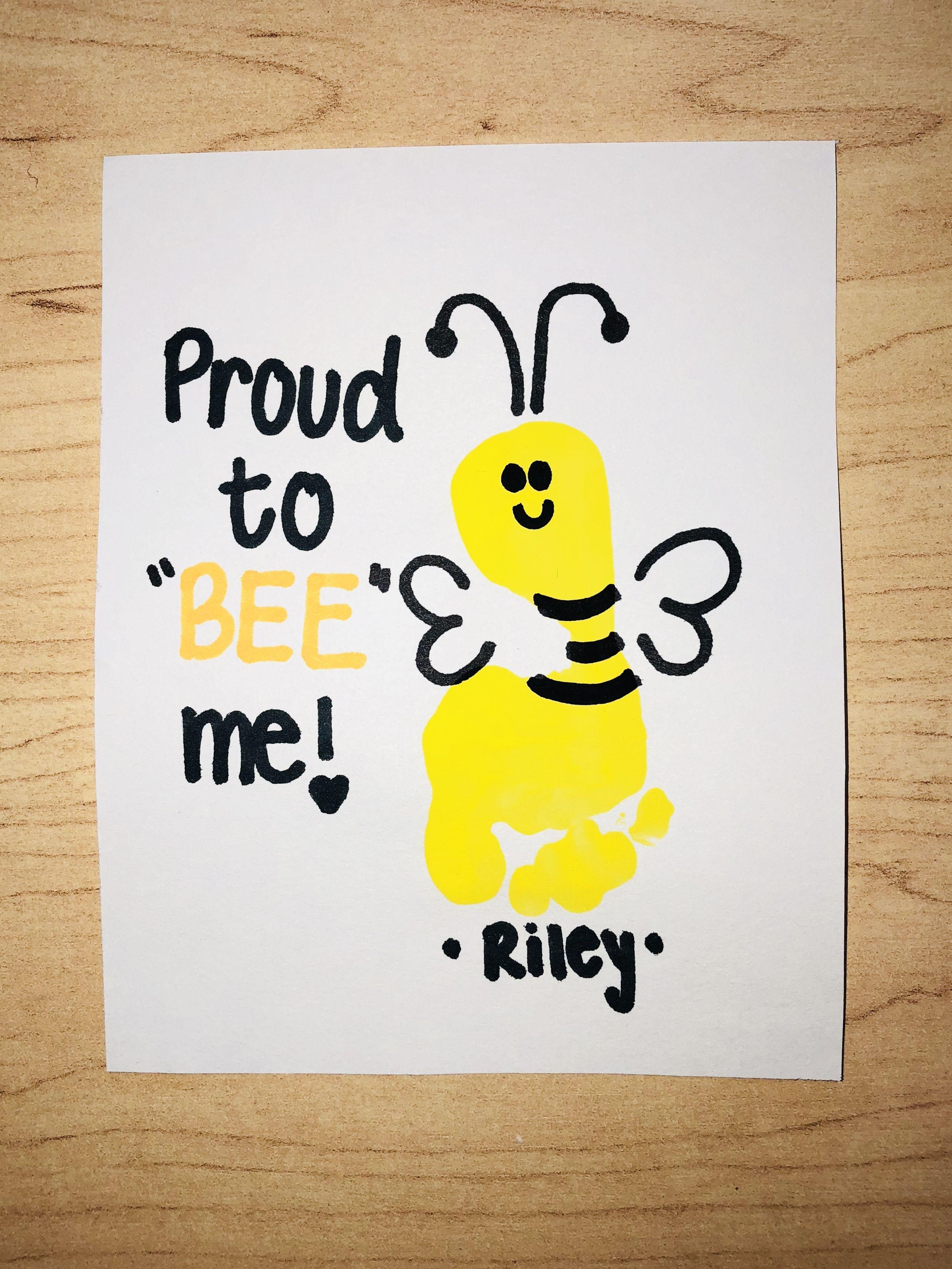 Bee Art Project Infant Art All About Me Unit Infant