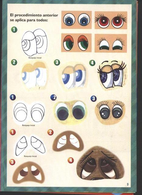 Ojos fofuchas para imprimir - Imagui | faces-eyes | Pinterest