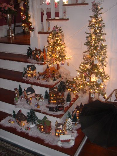 I love decorating our 1895 Queen Anne Victorian for Christmas.With 12 trees, searching for new ornaments is so much FUN!