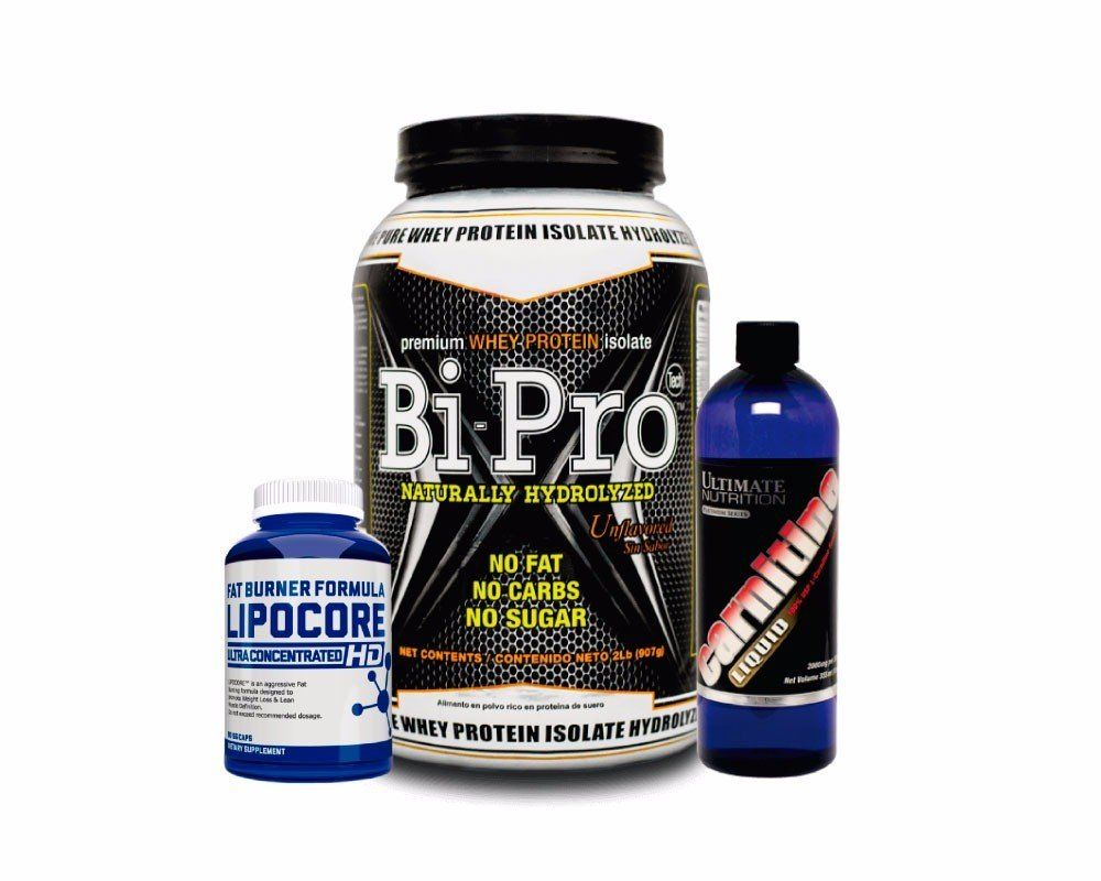 Tabla Nutricional Combo Bipro L Carnitine Ultimate Lipoore Hd