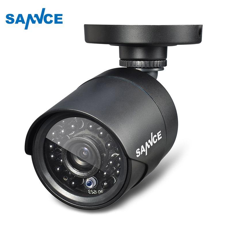 Sannce High Resolution 1200tvl 720p Cctv Security Camera H 264 Ip66 Waterproof Indoor Outdoor Surve Cctv Security Cameras Security Camera Security Camera Ideas