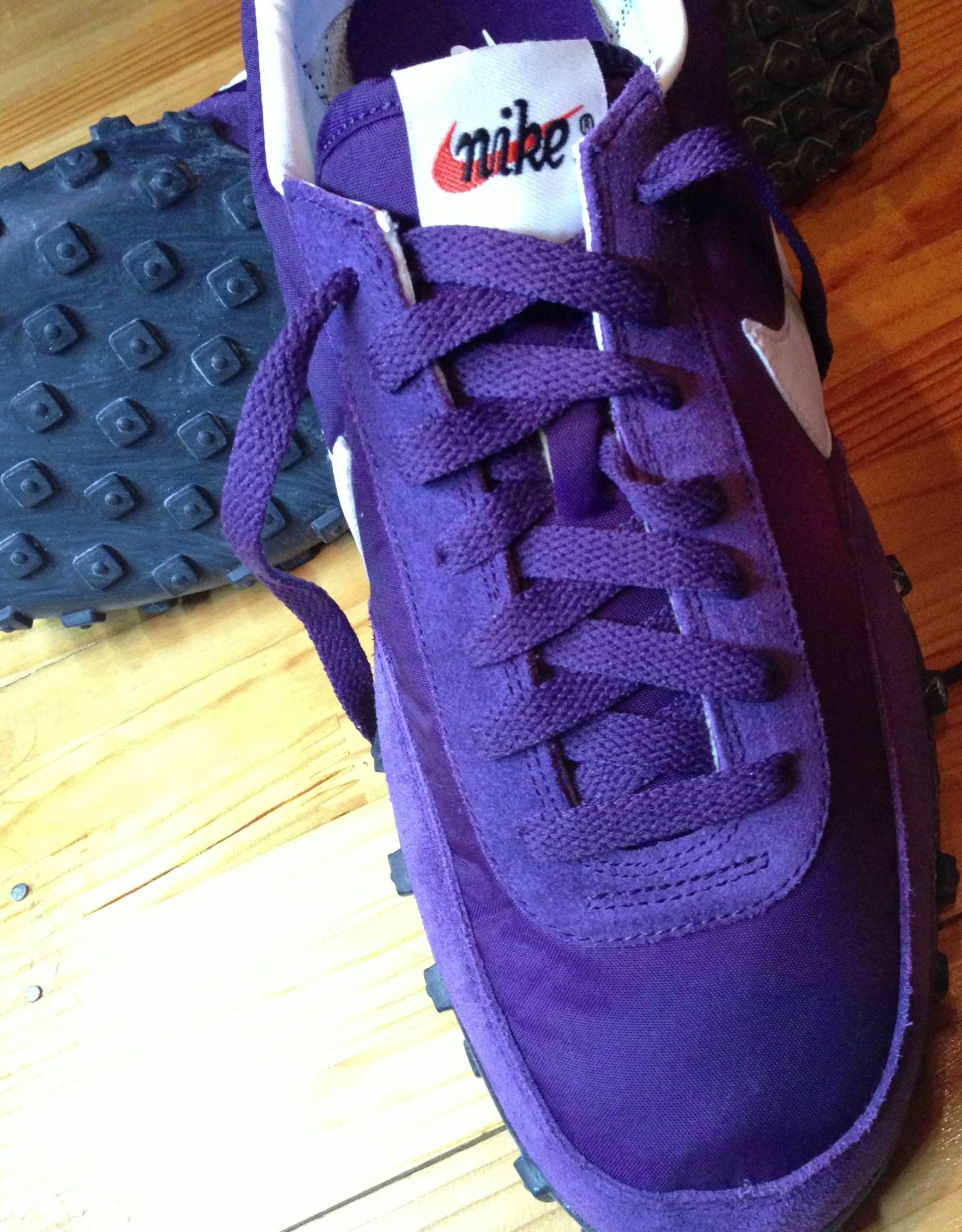 new concept 17741 8d6d3 Nike Waffle Racer Grand Purple VNTG
