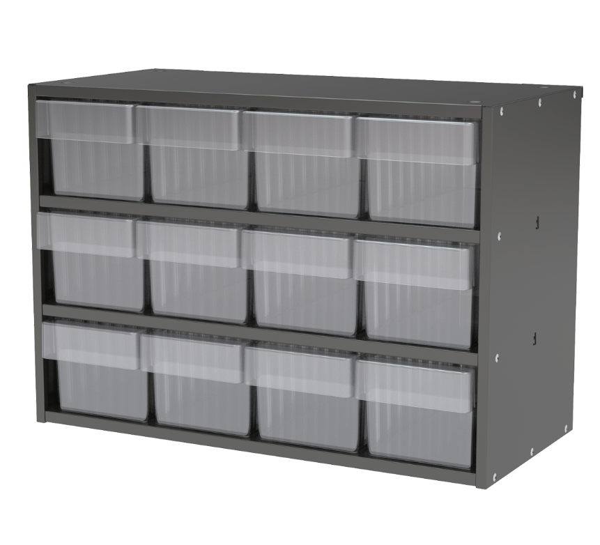 12 Drawer Akro Drawer Clear Drawer Small Parts Storage Modular Cabinets Steel Storage Cabinets Cabinet