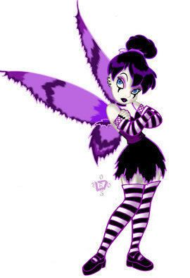 Goth Tinkerbell Disney Tinkerbell Disney Gothic Fairy