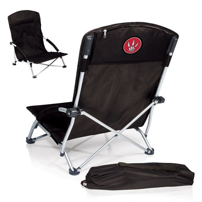 Use this Exclusive coupon code: PINFIVE to receive an additional 5% off the Toronto Raptors NBA Tranquility Black Beach Chair at SportsFansPlus.com