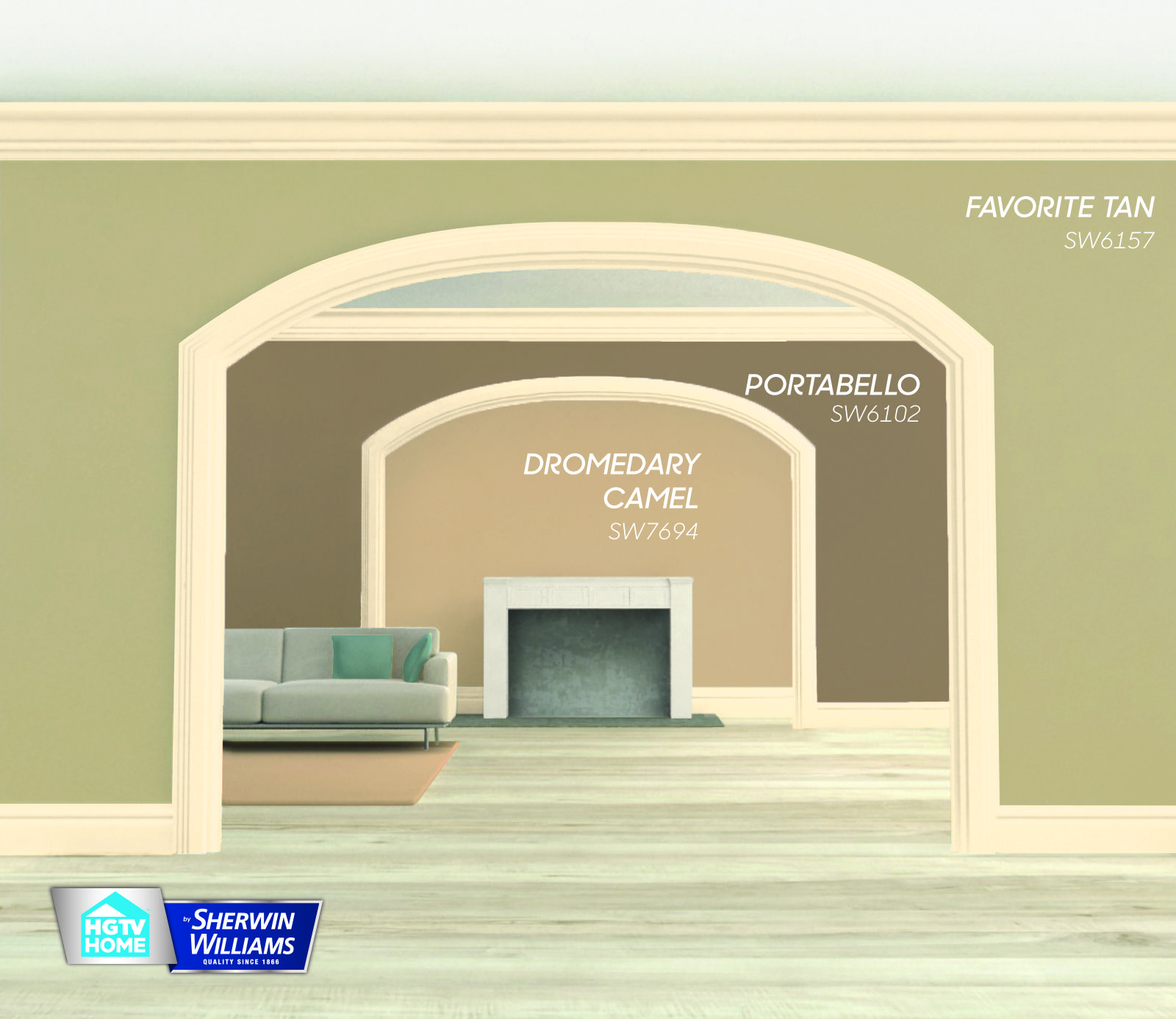 Harmonize your home with fallinspired cool colors use dromedary