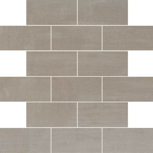 Master Bath Shower Floor Daltile Skybridge Gray Sy98 2x4 Brick Joint Daltile Tiles Mosaic