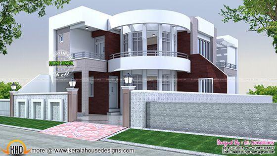 40x75 cute modern house plan villas pinterest modern house design - Cute small house plans ...