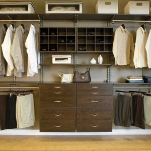 closet systems. FreedomRail Closet Systems