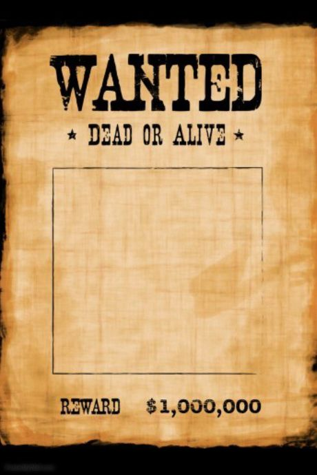 Customize these fun Wanted poster templates for work or play - fun poster templates