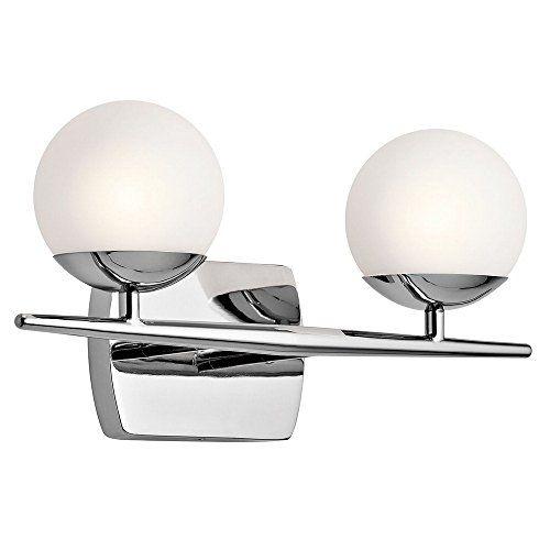 best bathroom light fixtures kichler 45581ch vanity lighting rh pinterest co uk