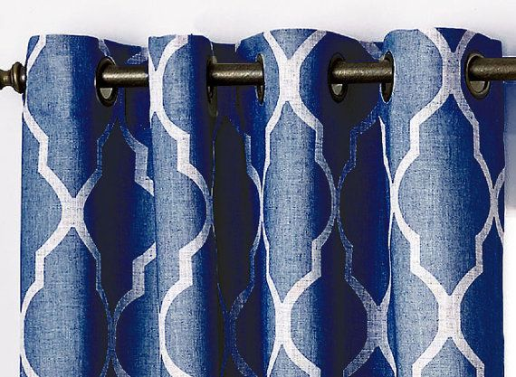 Custom Grommeted Curtains by CuttingCloth on Etsy