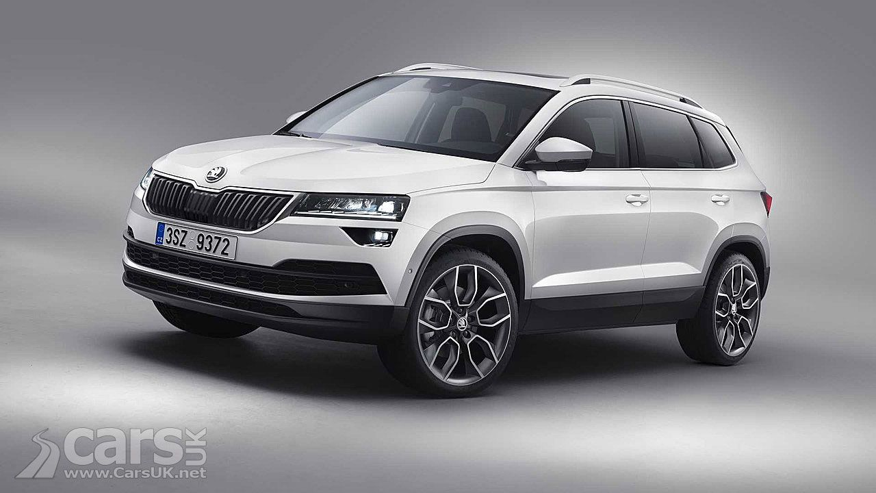 Skoda Karoq Suv Skoda S Replacement For The Yeti Officially