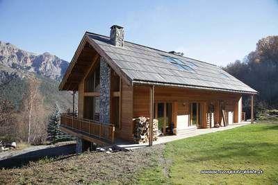 Maison ossature bois - architecte 2MFR | Maison ossature bois, Maison bois, Ossature bois