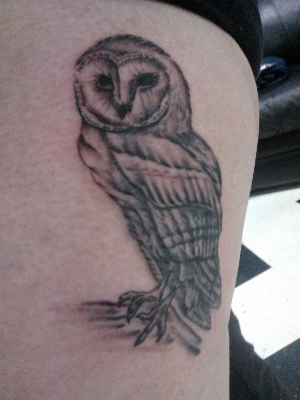 My Barn Owl Tattoo!!