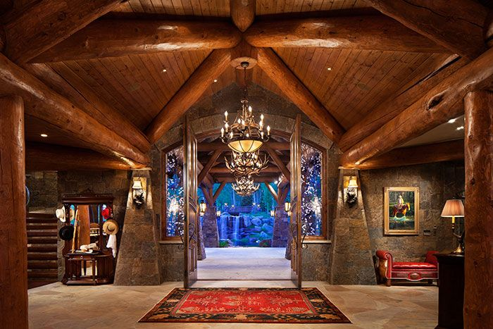 24,000 Square Feet of Mountain Ranch Luxury