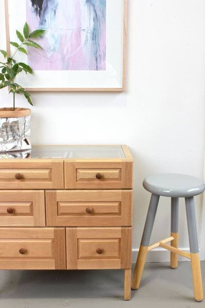 Oak Chest of Drawers - Designed by Nathan Yong