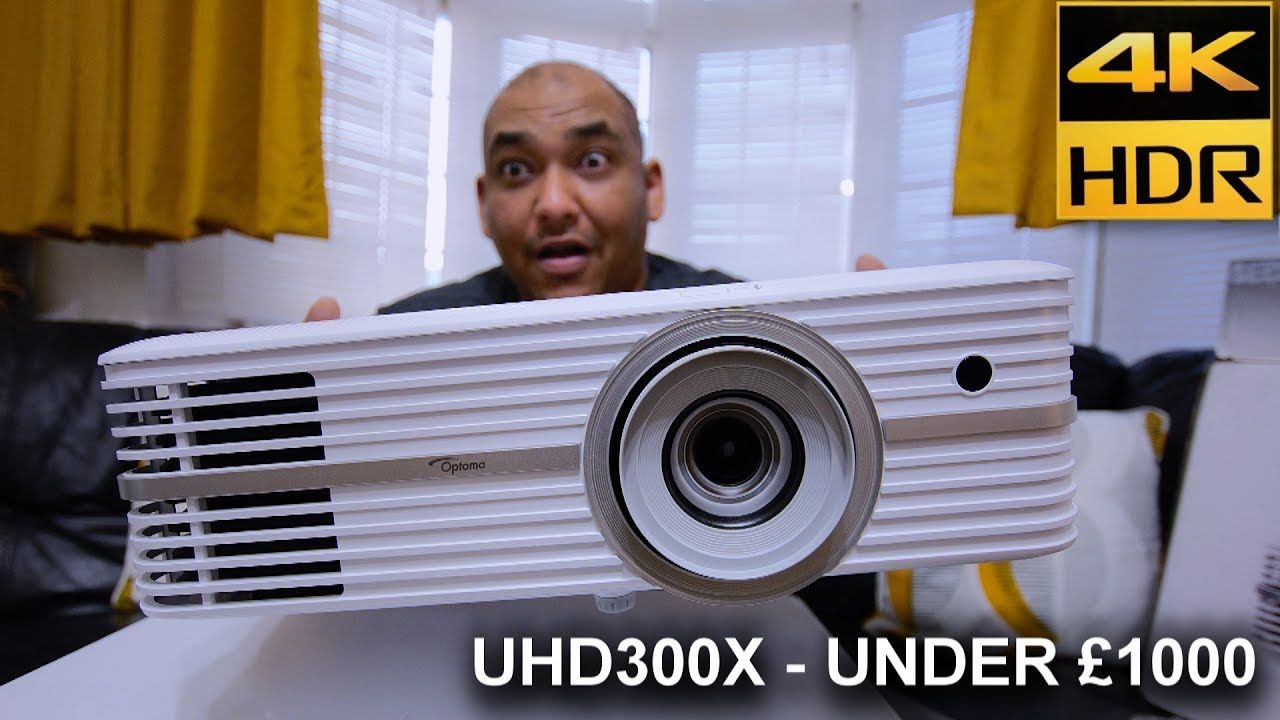Optoma UHD300X Projector Definitive Review - 4K HDR For
