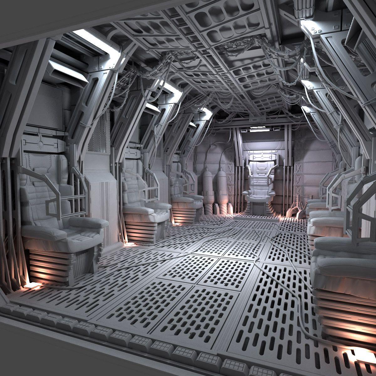 space shuttle interior 3d scan - photo #7