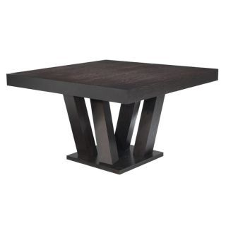 Madero Espresso Square Dining Table