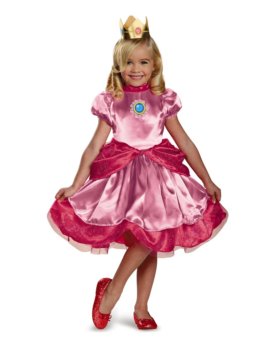 Mario Bros. Princess Peach Toddler Costume | emma fiesta | Pinterest