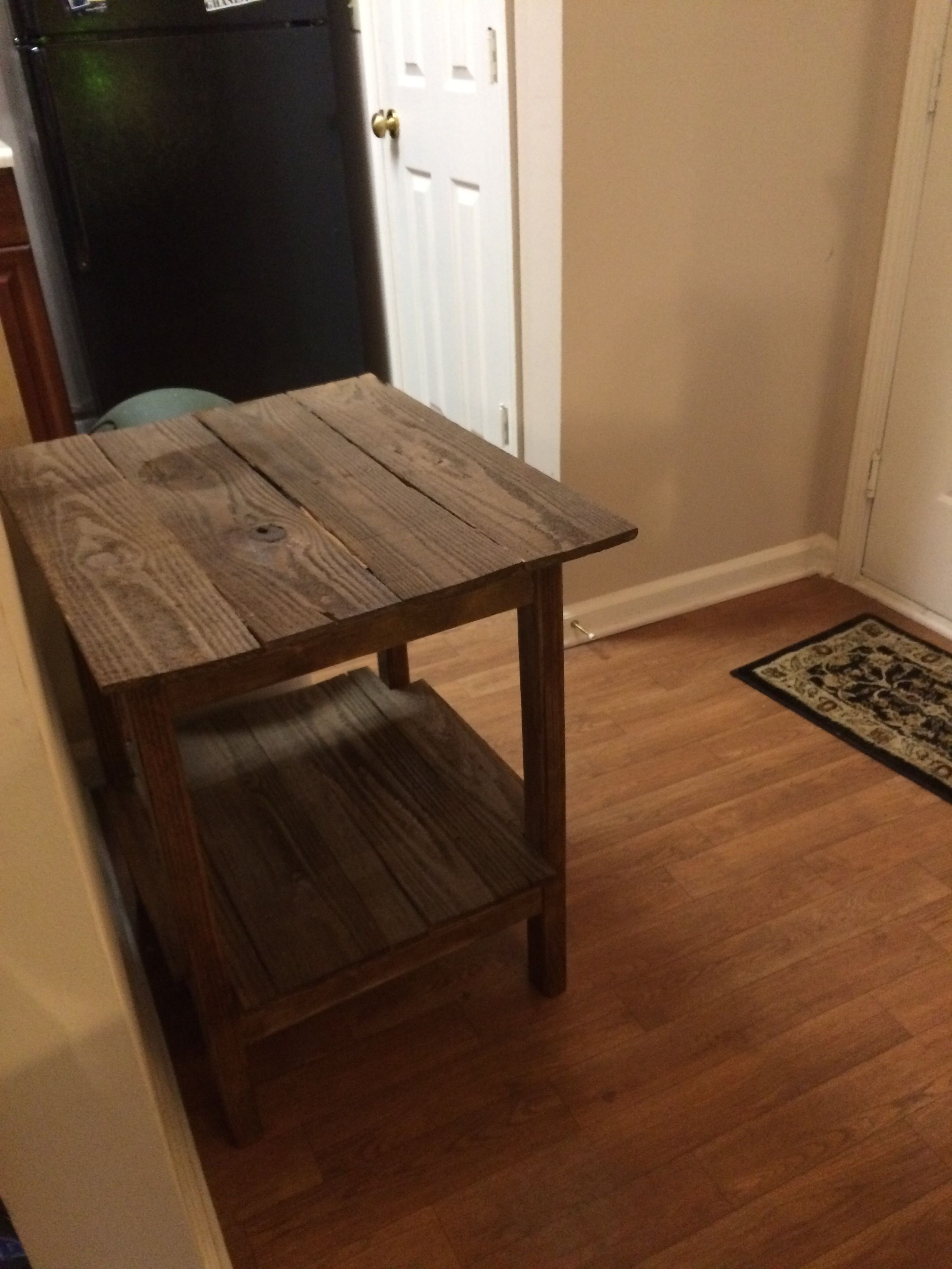 30 Min Pallet End Table