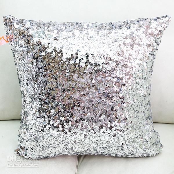 sequin pillow cushion cover pillow case