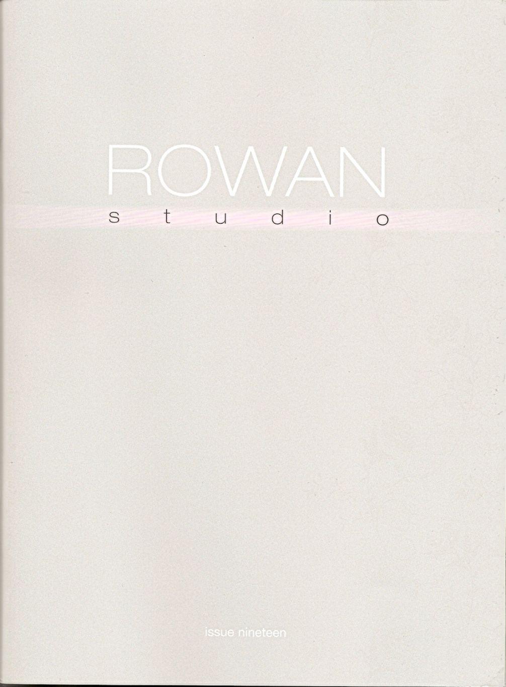 【转载】Rowan studio - 编织幸福的日志 - 网易博客