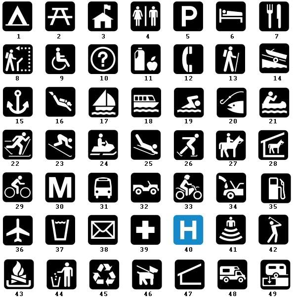 State Park Iconography Great Graphics And Source Images