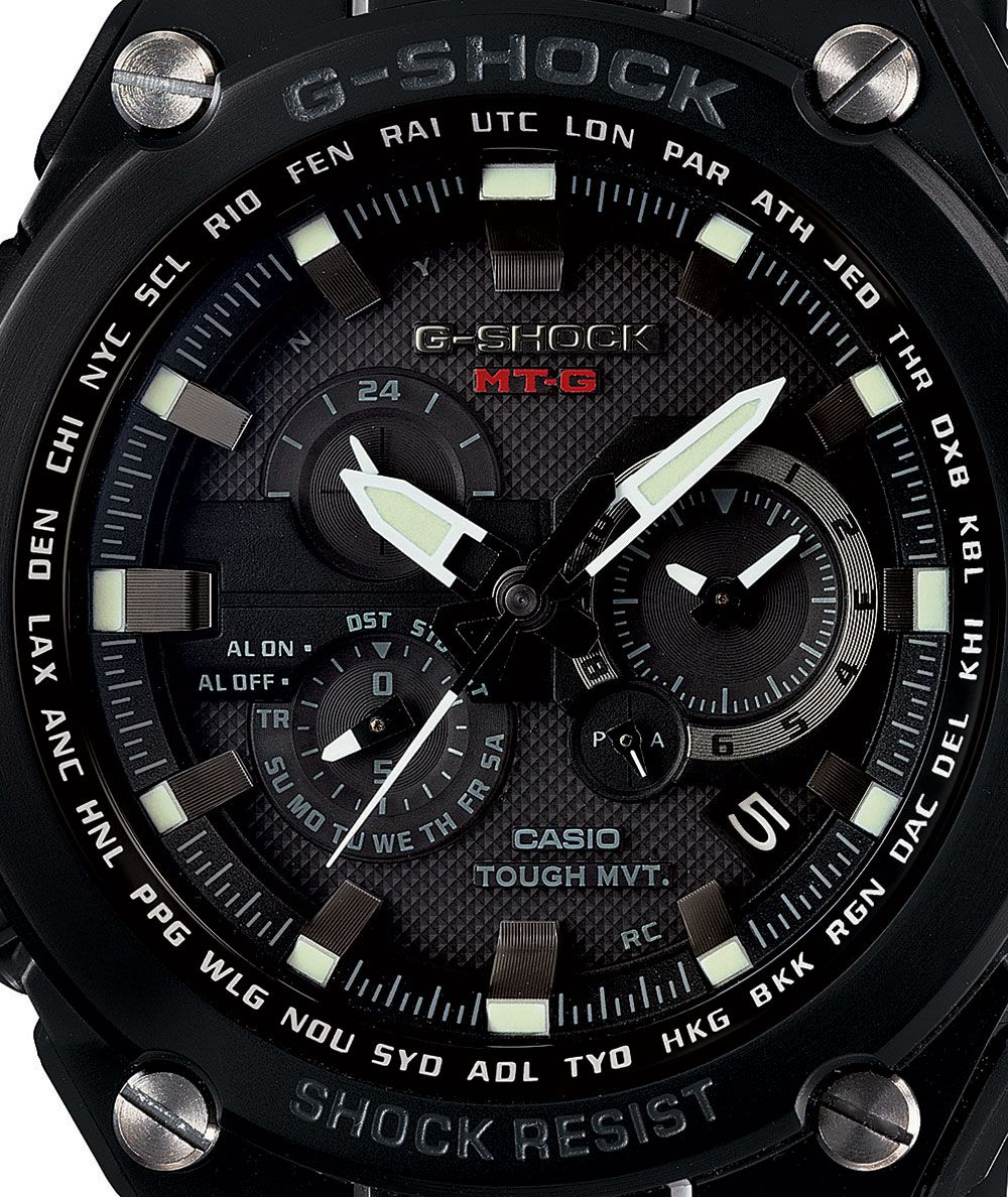 G-Shock MTGS-1000BD-1ACR Limited Edition Metal -Black
