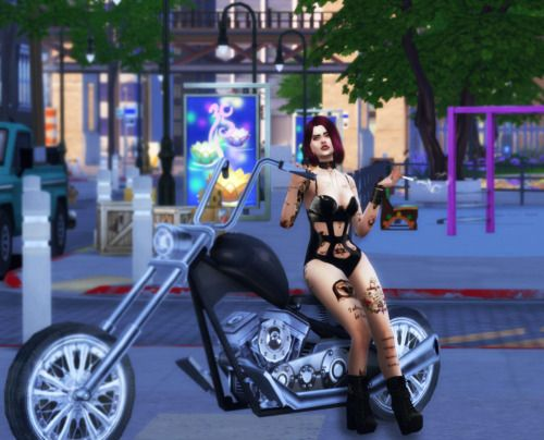 Motorcycle Friends Posepack By Ziboohuniversesims Poses