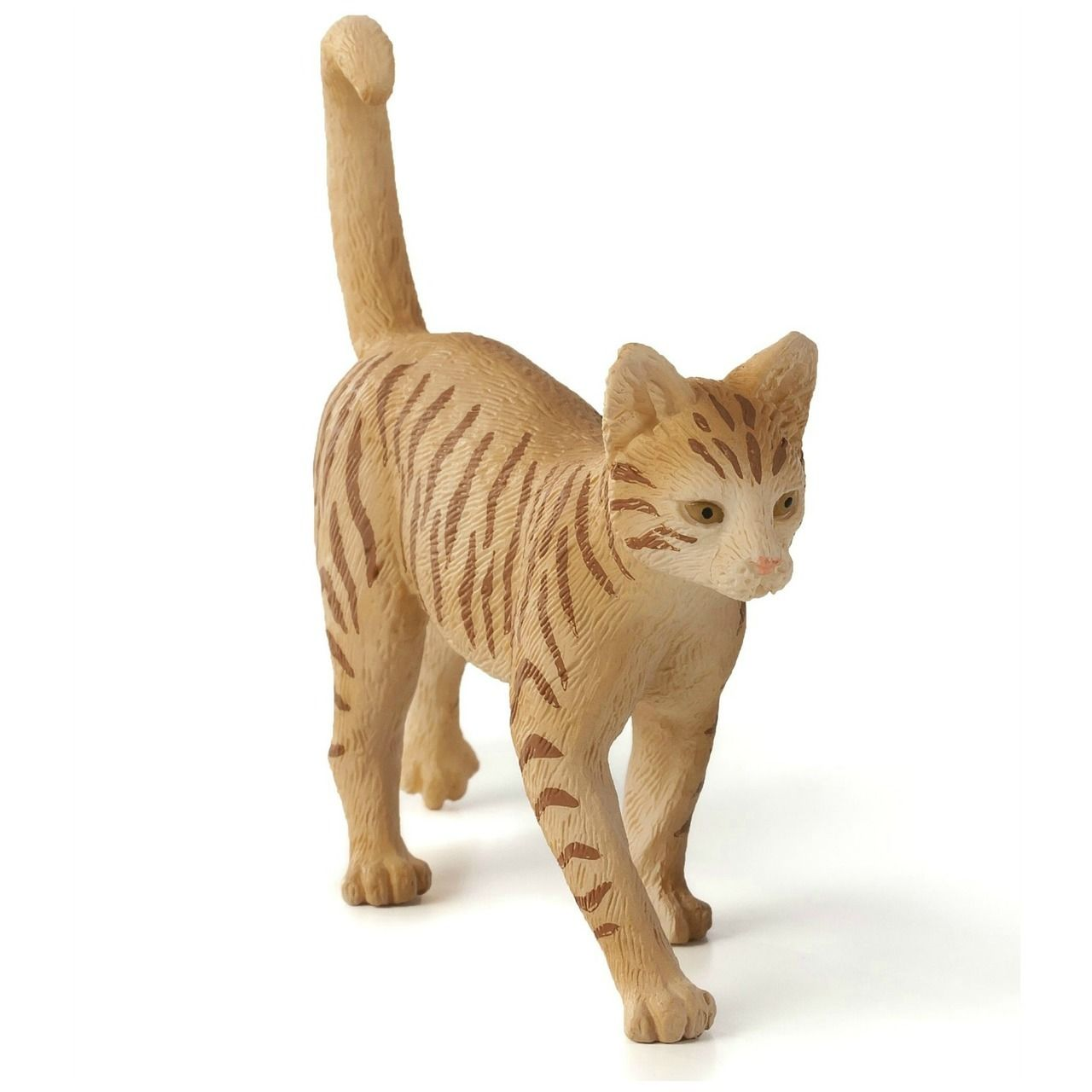 Ginger Tabby Cat figurine by Mojo at MiniZoo Tabby cat