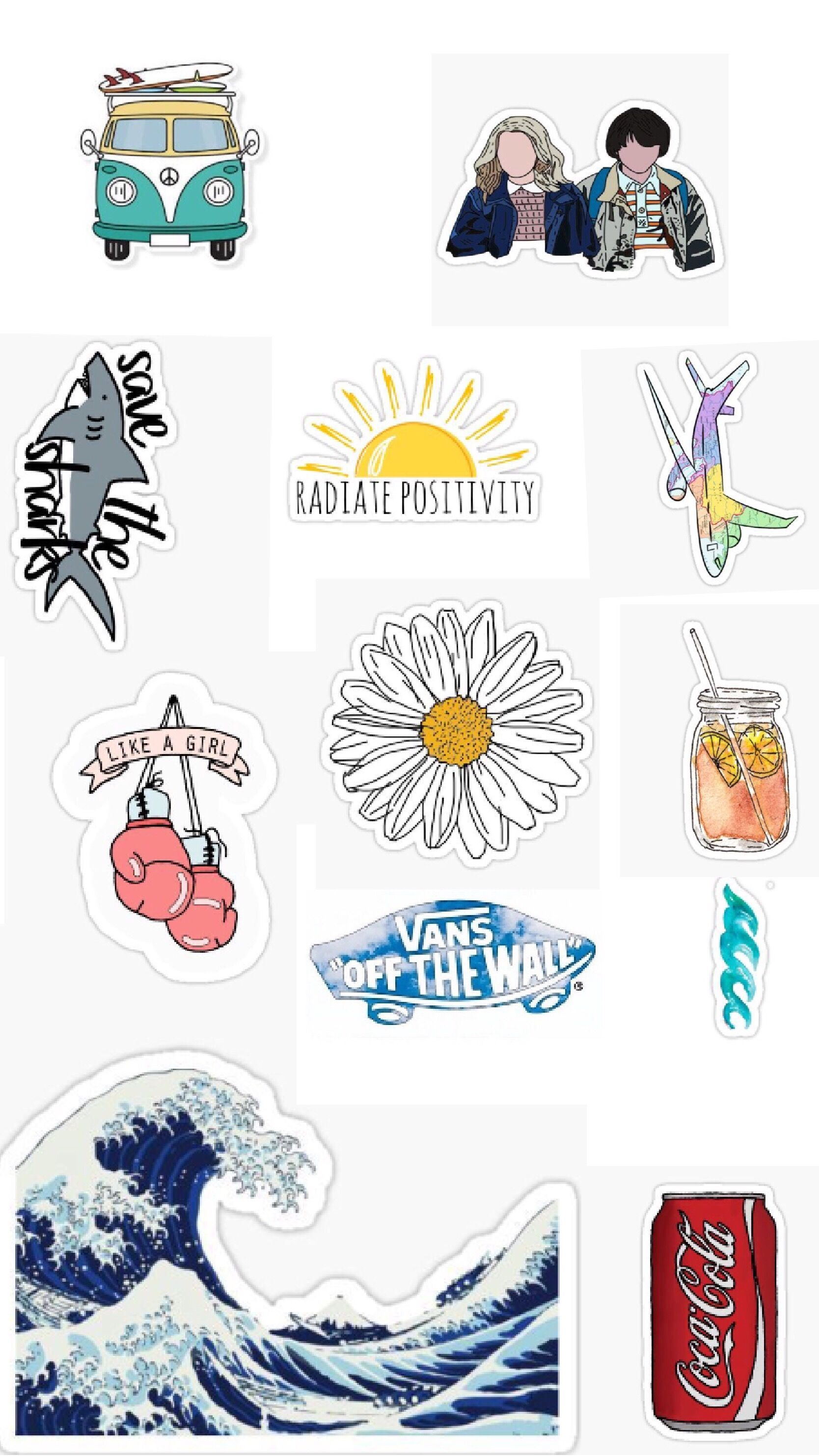 picture about Aesthetic Stickers Printable called Pin by way of Magda Mazurkiewicz upon Kalendarz within 2019 Aesthetic