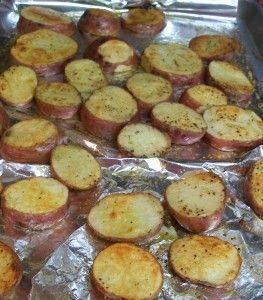baked rosemary potatoes (GF/DF)
