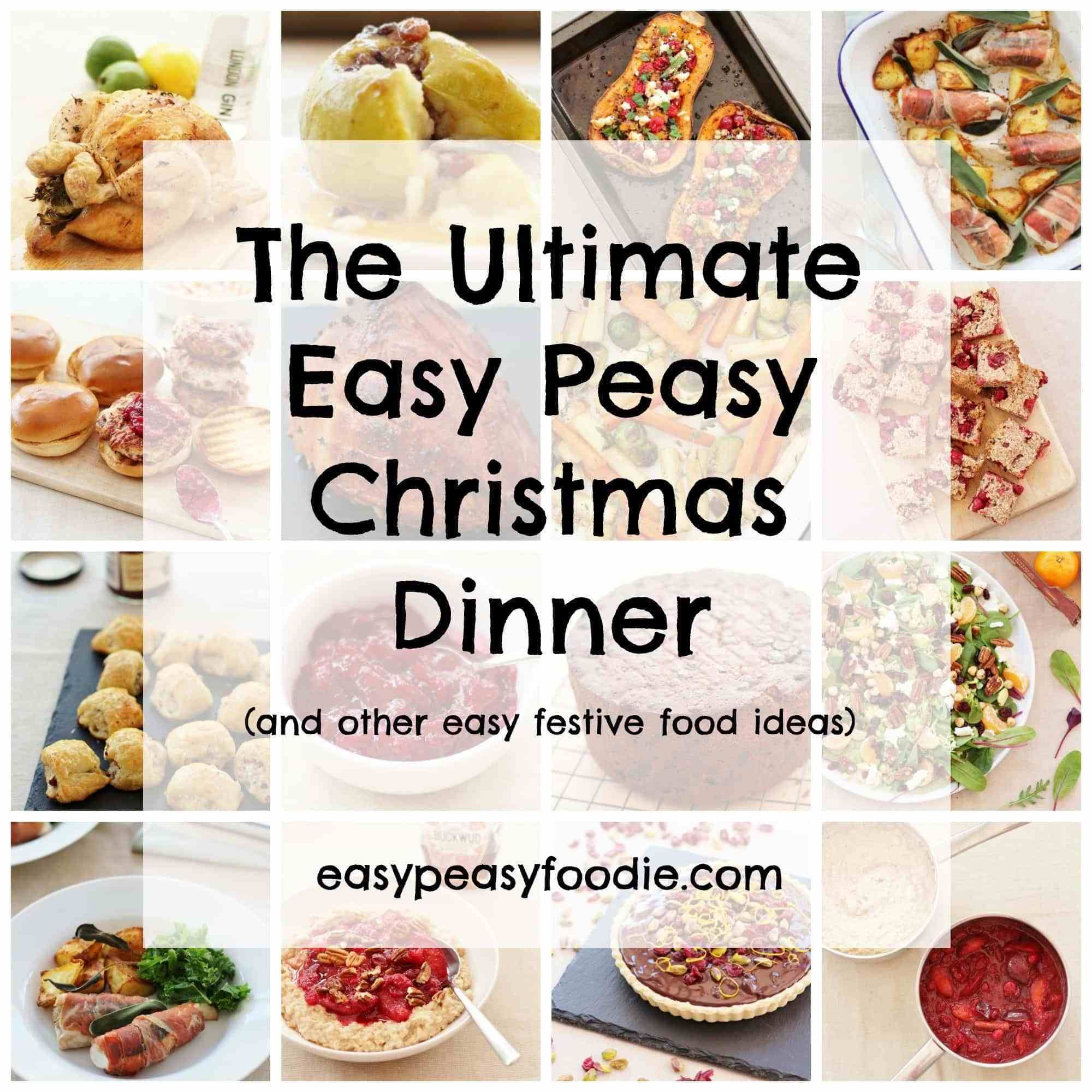 Want to have a stress-free Christmas Dinner, but still enjoy all your favourites? Want to spend less time in the kitchen this year and more time with your friends and family? Want Christmas Dinner to be ready in one hour? Yes you read that right ONE HOUR! Then read on… #christmasdinner #christmasfood #christmasrecipes #christmasday #easychristmasdinner #easychristmas #easypeasychristmas #easypeasychristmasdinner #easypeasyfoodie #cookblogshare #freefromgang