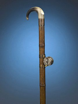 Decorative Walking Canes Fully Equipped For A Fishing Expedition One Could Use This