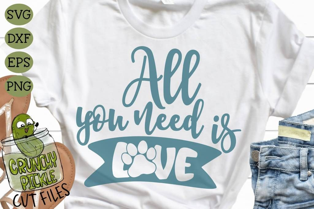 Download All You Need is Love Dog Paw SVG | Dog paws, All you need ...
