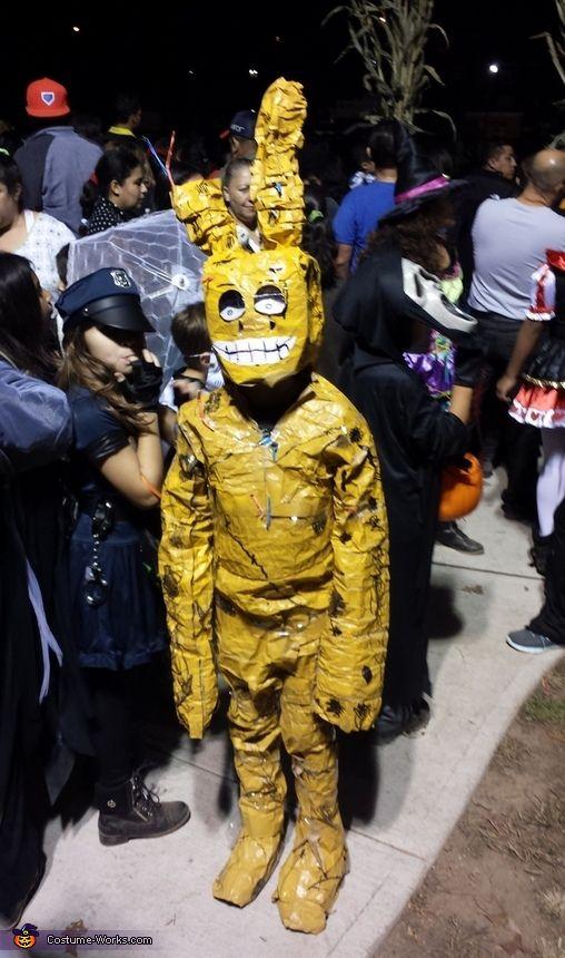 springtrap bunny diy costume